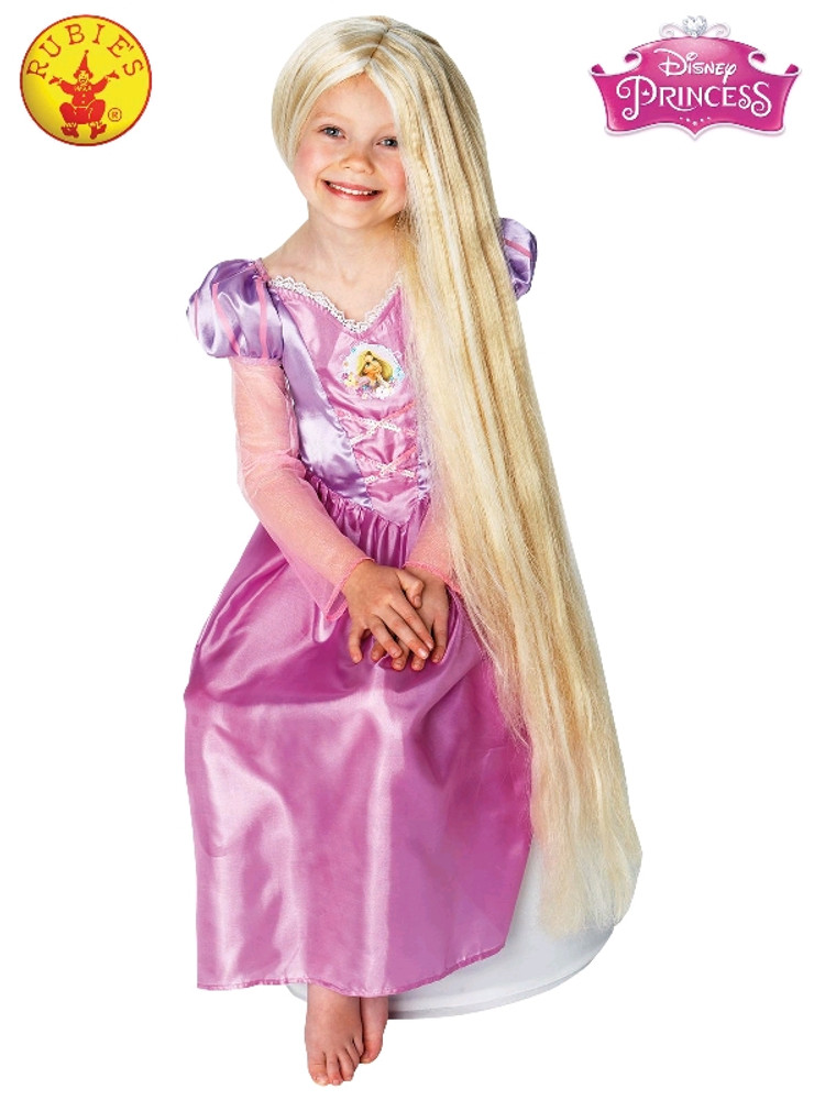 Rapunzel Glow in Dark Child's Wig