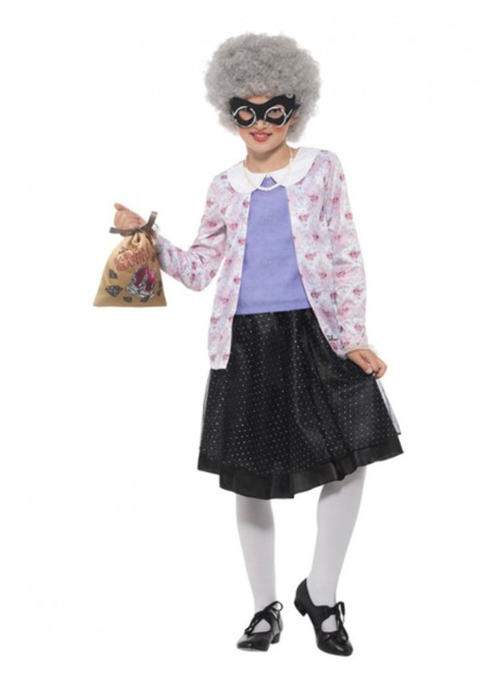 David Walliams Gangster Granny Kids Costume