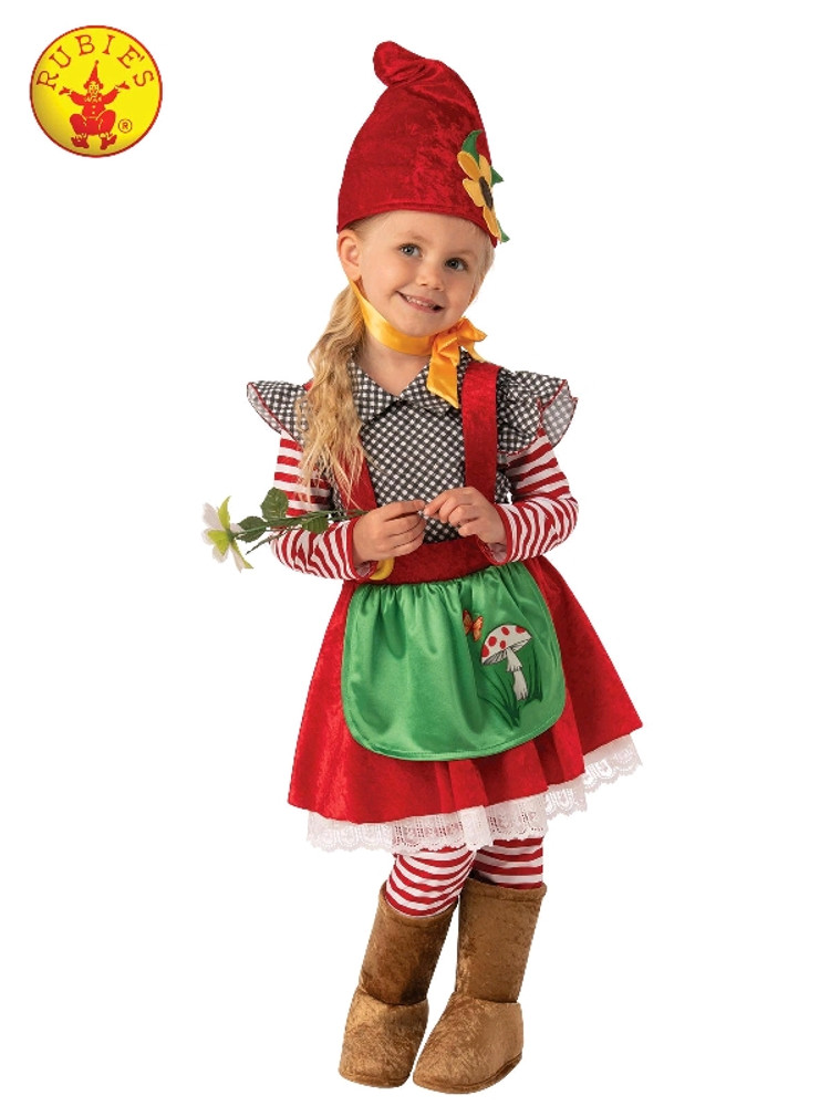 Garden Gnome Girls Costume