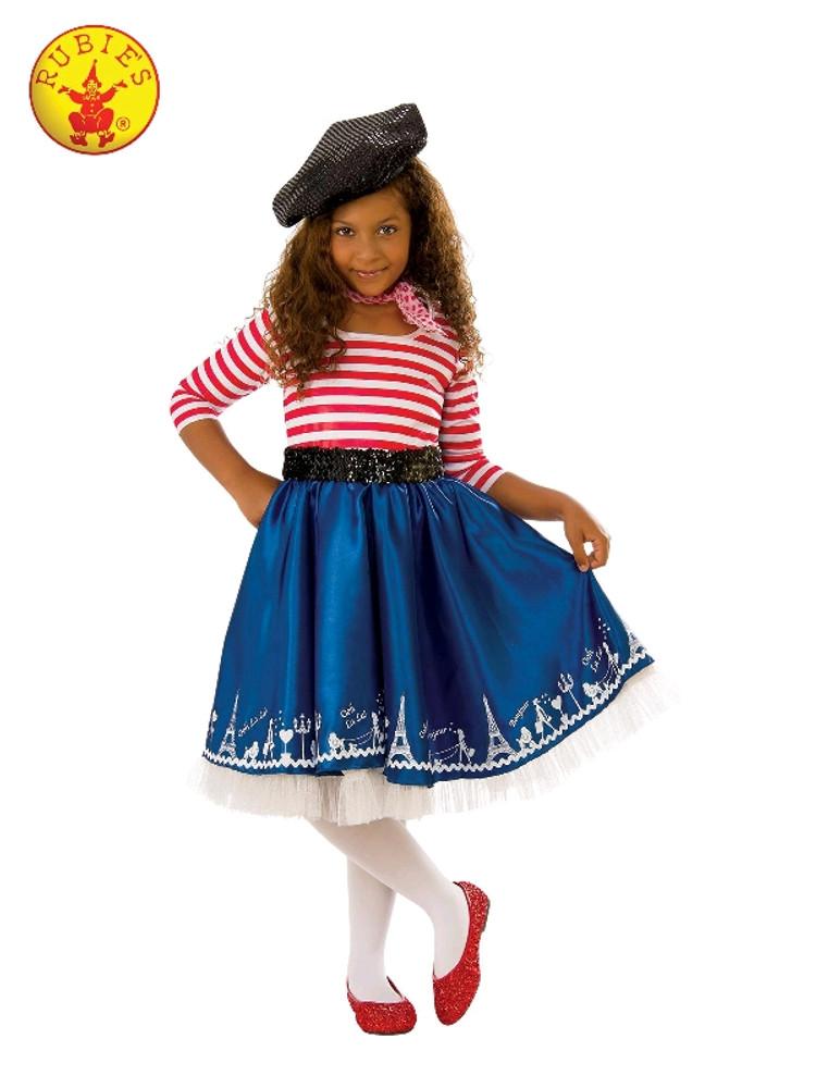 Petite Mademoiselle French Girls Costume