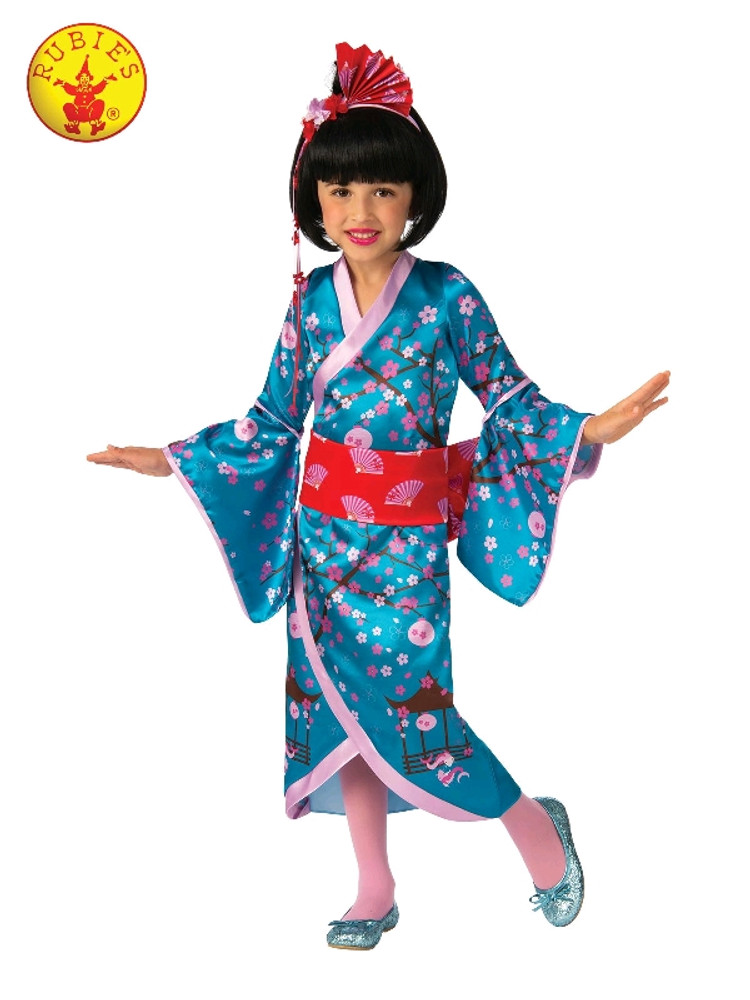 Cherry Blossom Japanese Princess Girls Costume