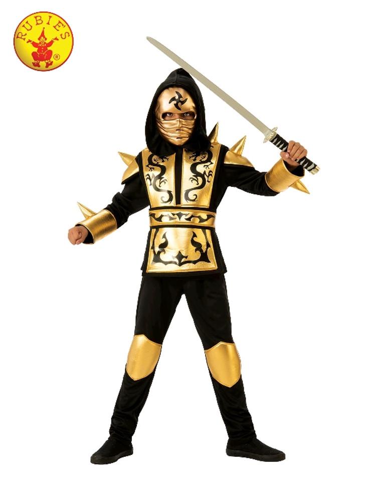 Ninja Gold Child Costume