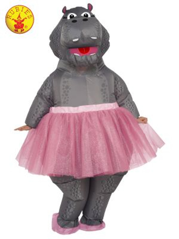 Hippo Inflatable Animal Costume