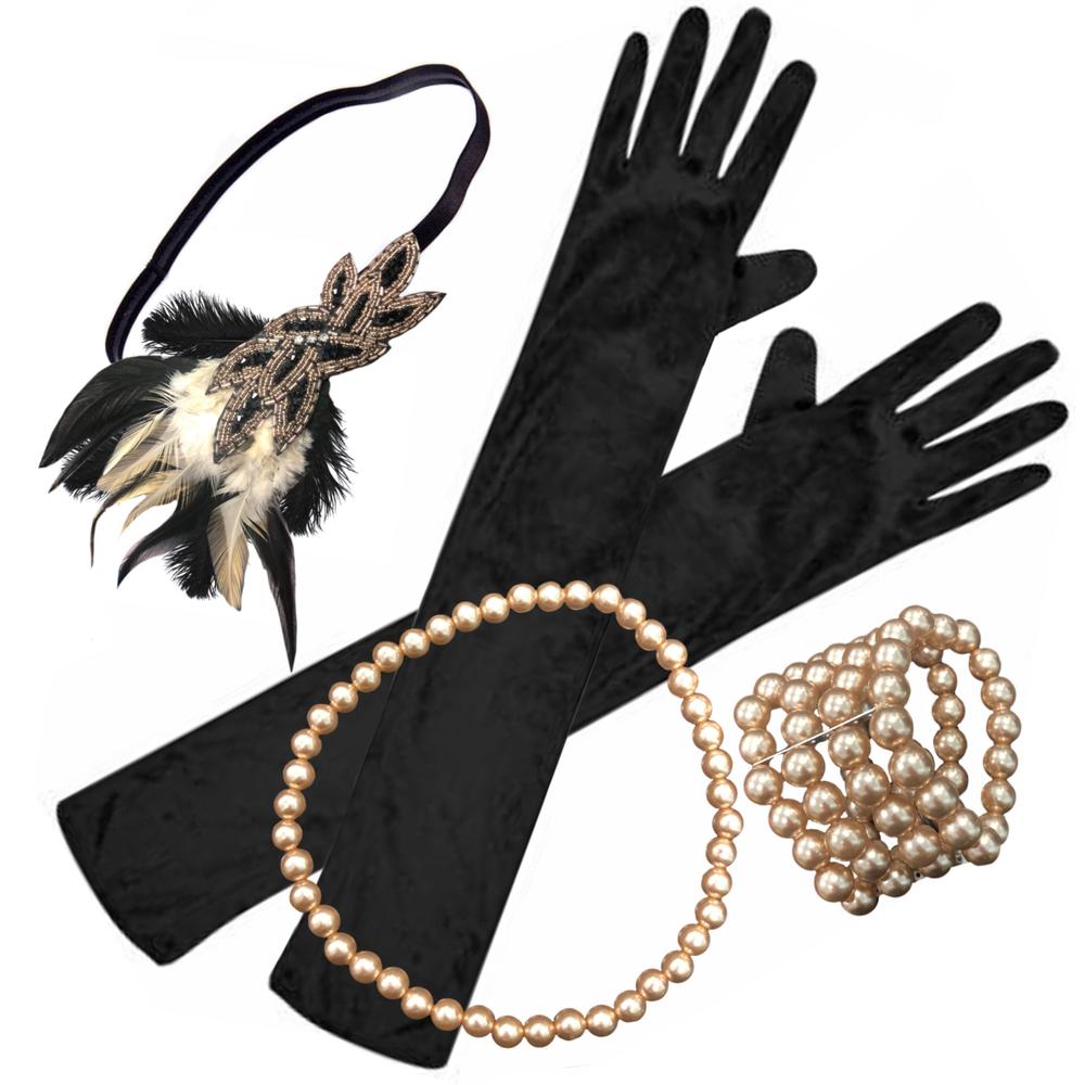 1920s Rose Gold Gatsby Kit