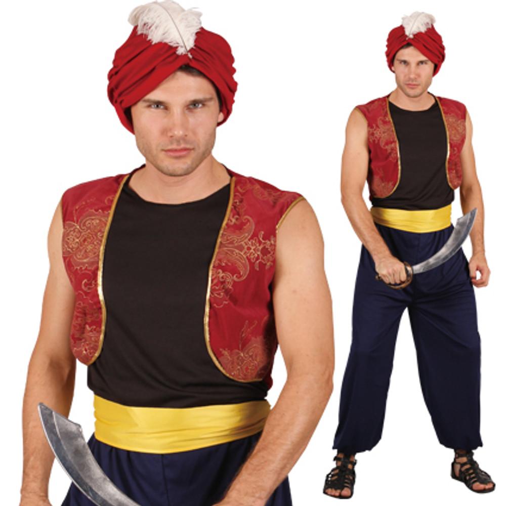 Aladdin Persian Prince Mens Costume
