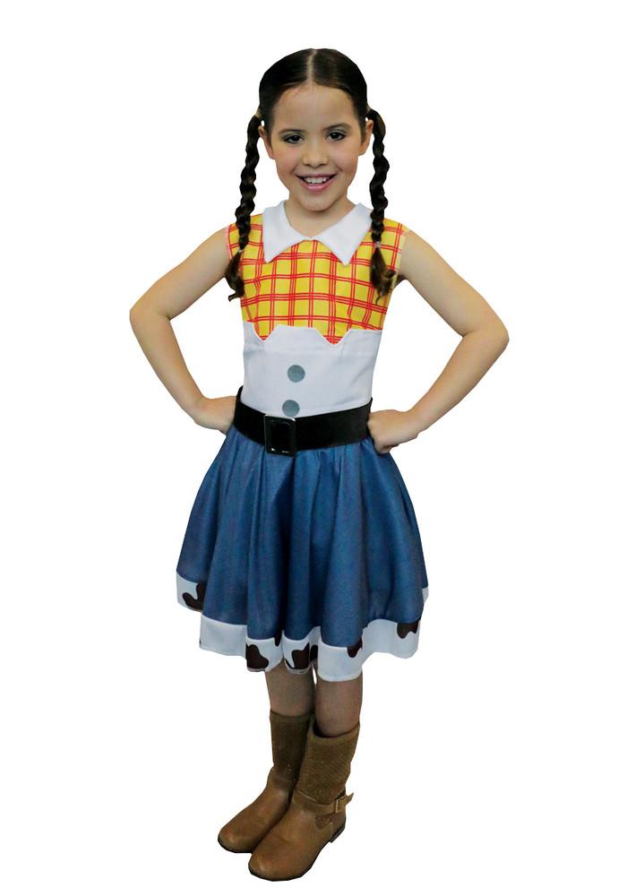 Jessie Cowgirl Girls Costume