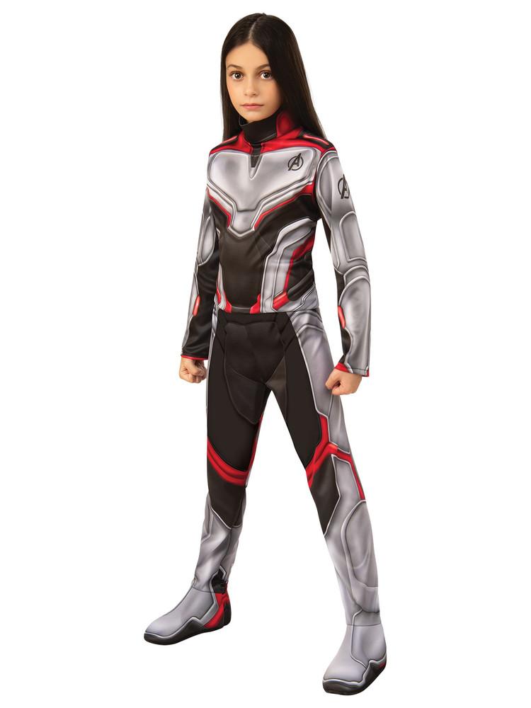 Avengers 4  Unisex Team Suit Kids Costume