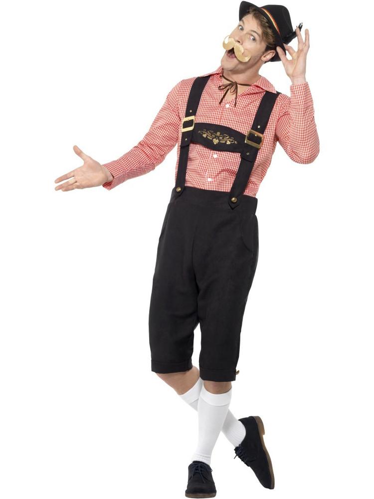 Oktoberfest Bavarian Beer Guy Costume