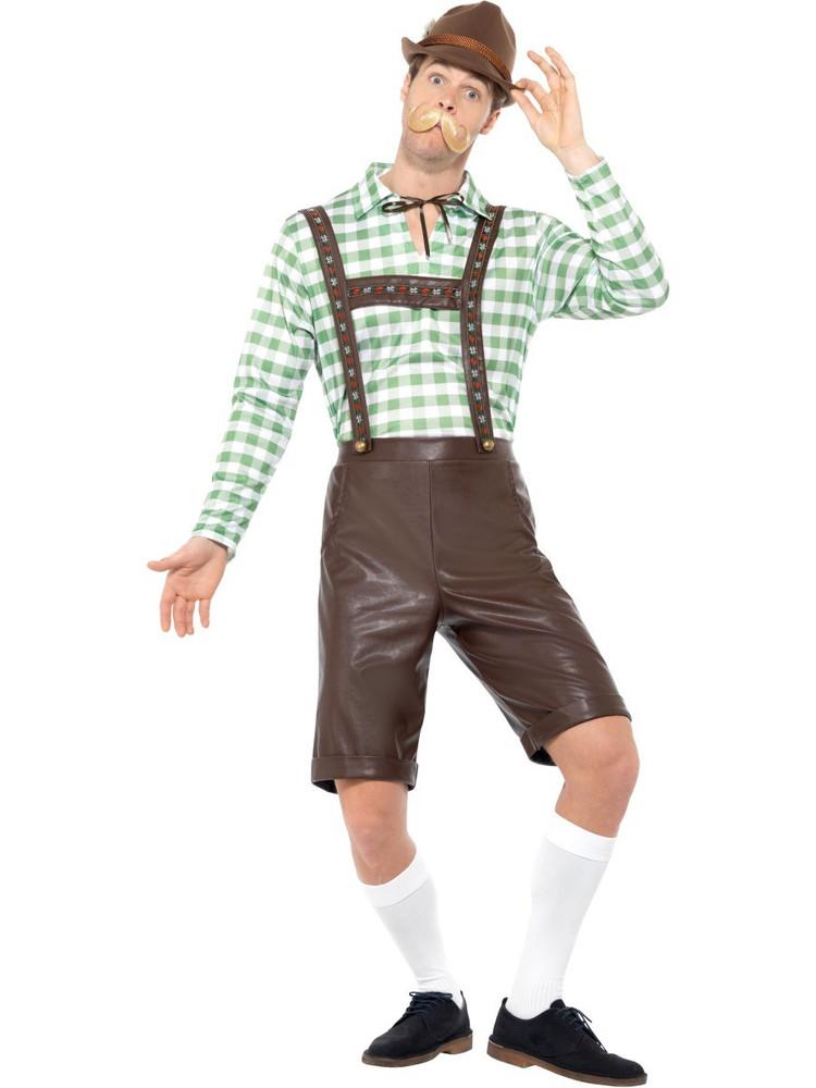 Oktoberfest Bavarian Man Costume