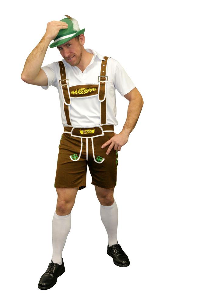 Oktoberfest Brown Beer Man Costume