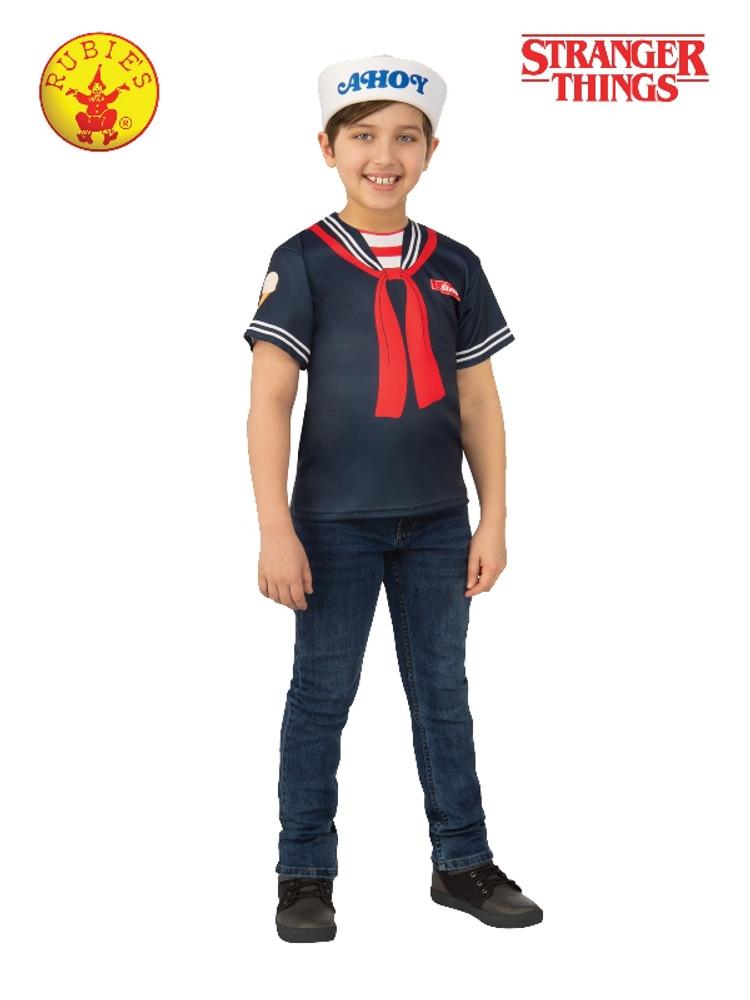 Stranger Things Steve Scoops Ahoy Kids Costume