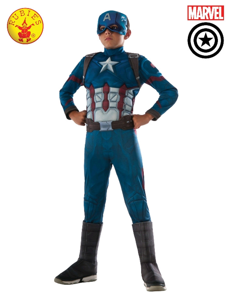 Captain America Infinity War Deluxe Boys Costume