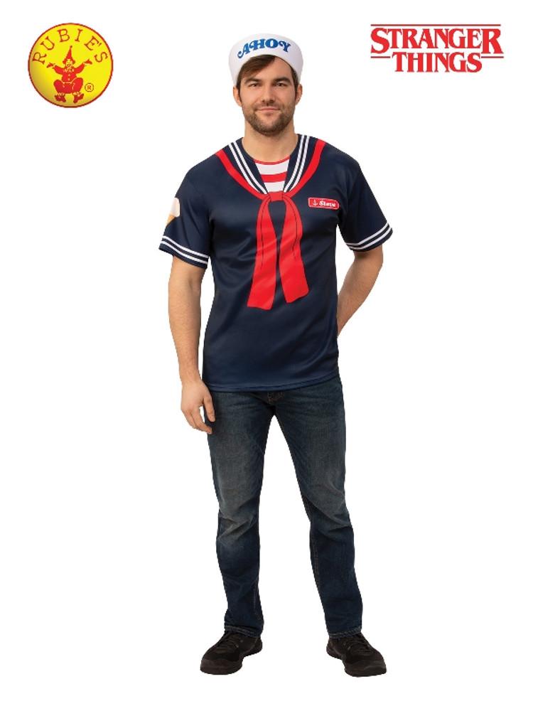 Stranger Things Steve Scoops Ahoy Adult Costume