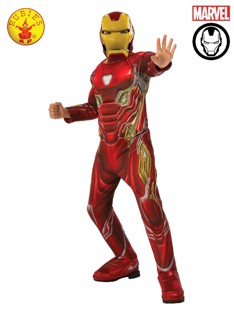 Iron Man Deluxe Boys Costume