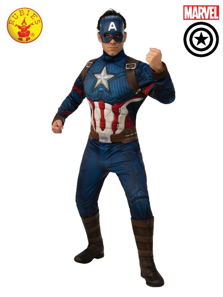 Captain America Deluxe Mens Costume