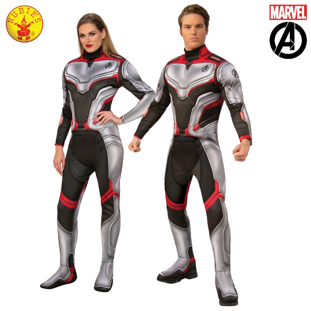 Avengers 4 Deluxe Team Suit  Adult Costume