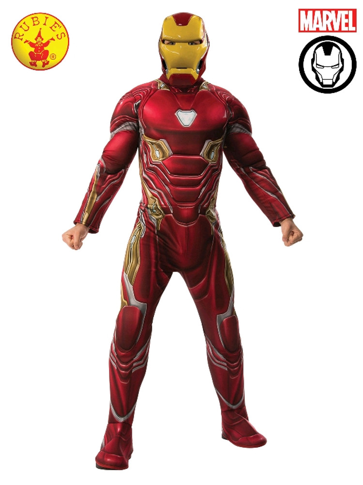 Iron Man Avengers Deluxe Adult Costume