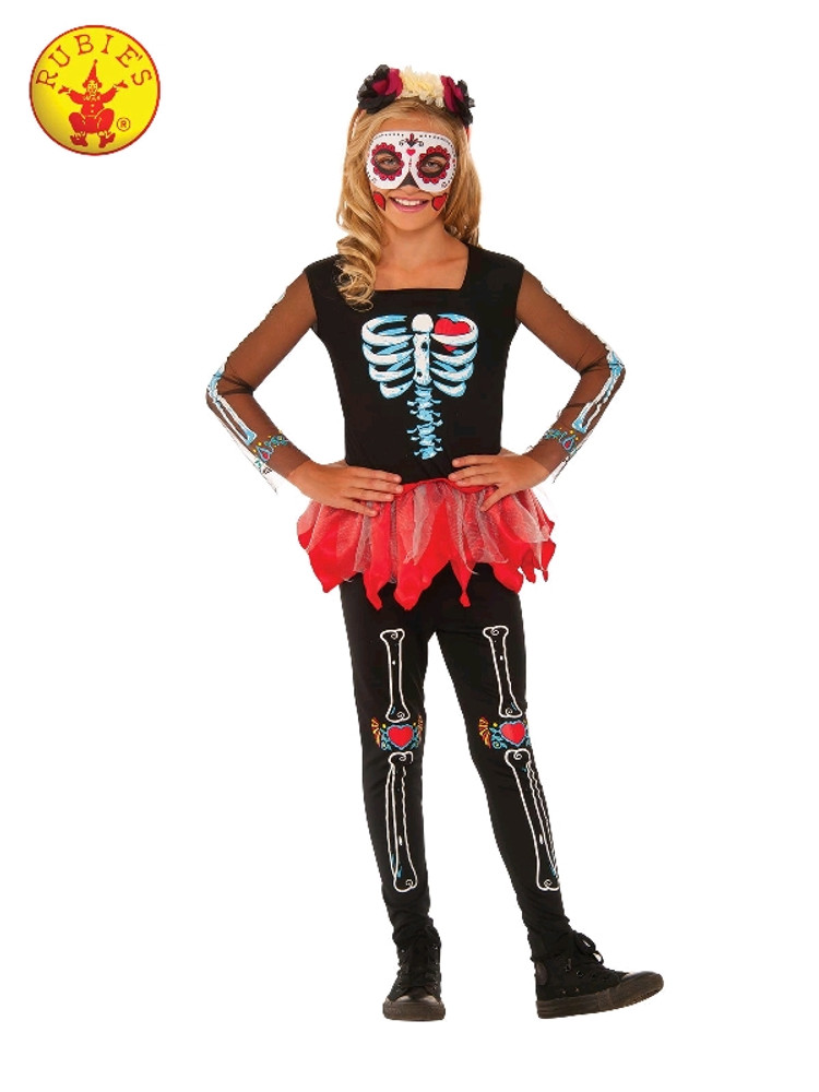 Scared to the Bone Girls Costume