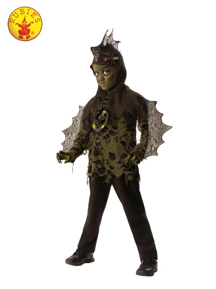 Swamp Boy Lizard Kids Costume