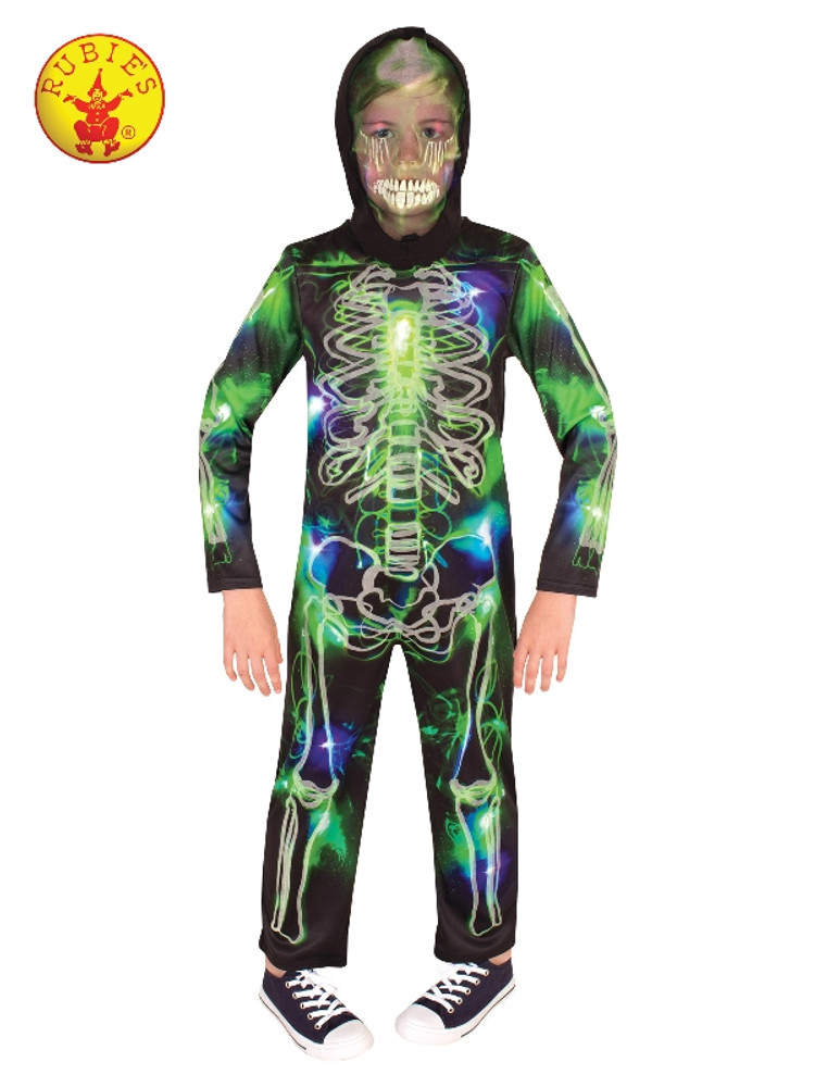 Skeleton Spooky Glow in Dark Kids Costume
