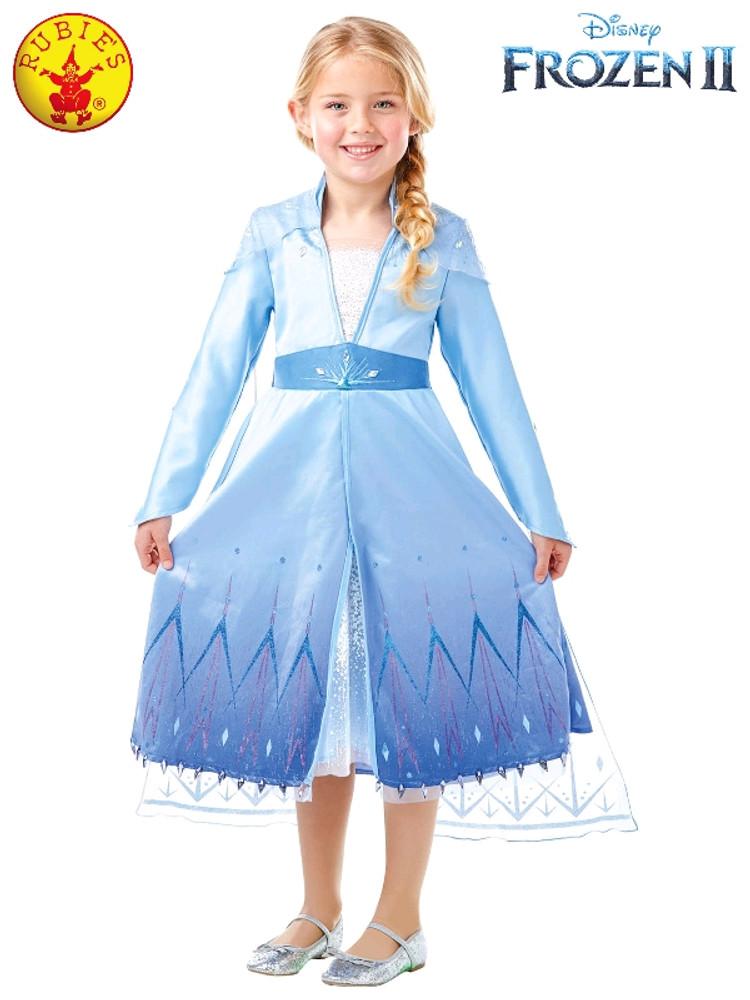 Frozen 2 Elsa Girls Costume