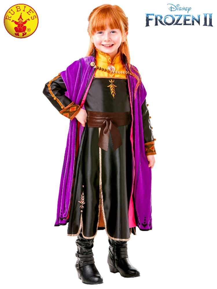 Frozen 2 Anna Girls Costume