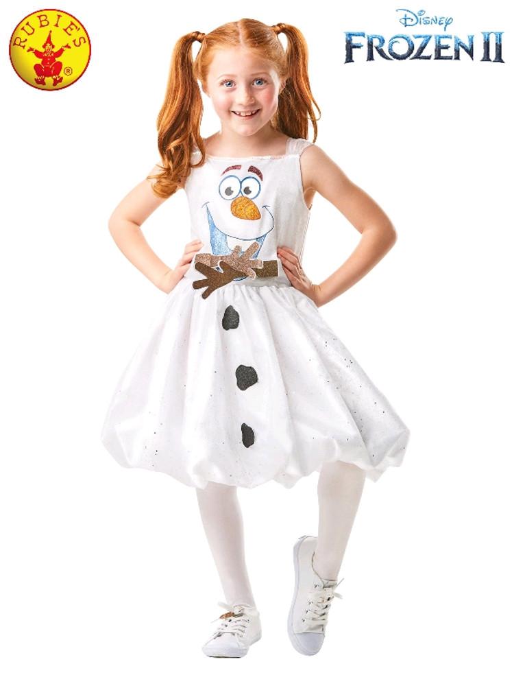 Frozen 2 Olaf Tutu Girls Costume