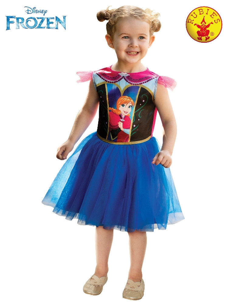 Frozen Anna Girls Toddler Costume