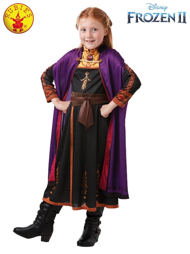 Frozen 2 Anna Classic Girls Costume