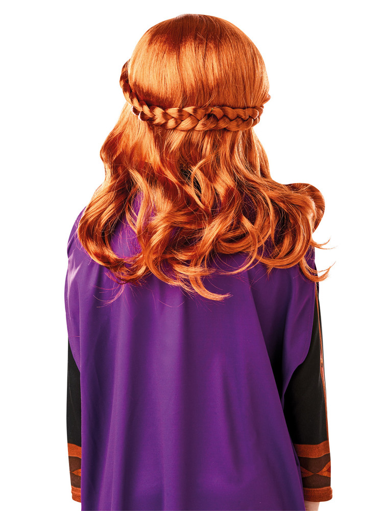 Anna Frozen 2 Wig Child
