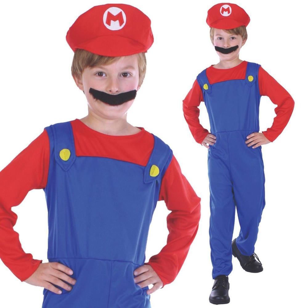 Mario Plumber Child Costume
