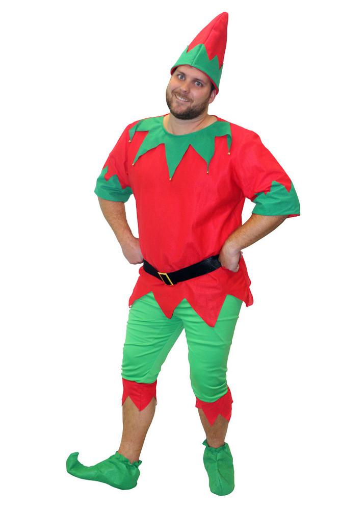 Christmas Elf  Mens Costume