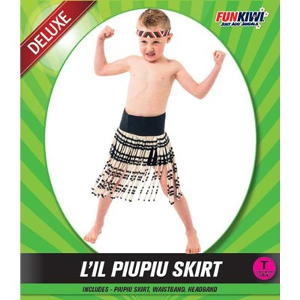 Maori Piupiu Toddler Skirt