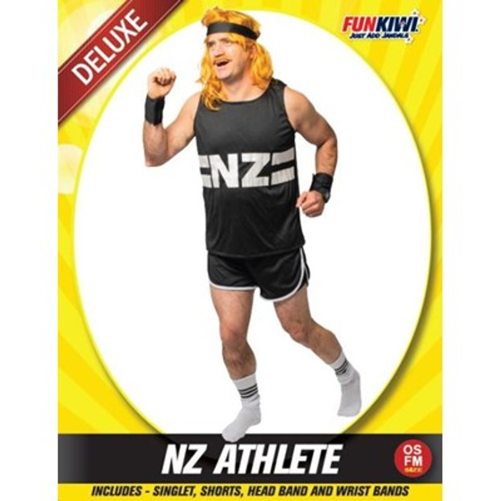 NZ Athlete Adult Costume