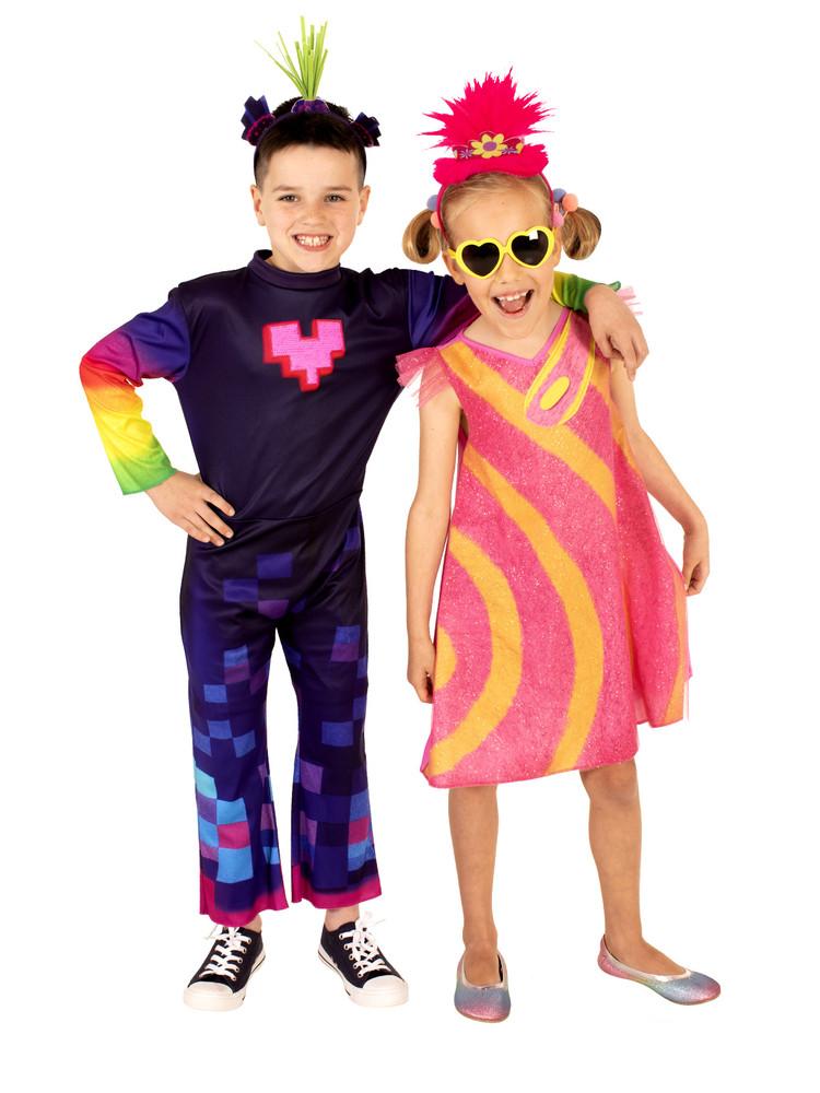 King Trollex 2 Boys Costume