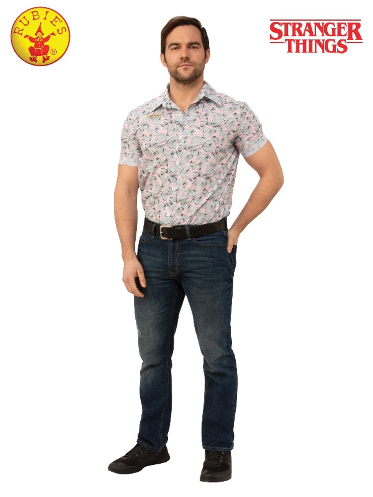 Stranger Things Jim Hooper Hawaiian Adult Costume