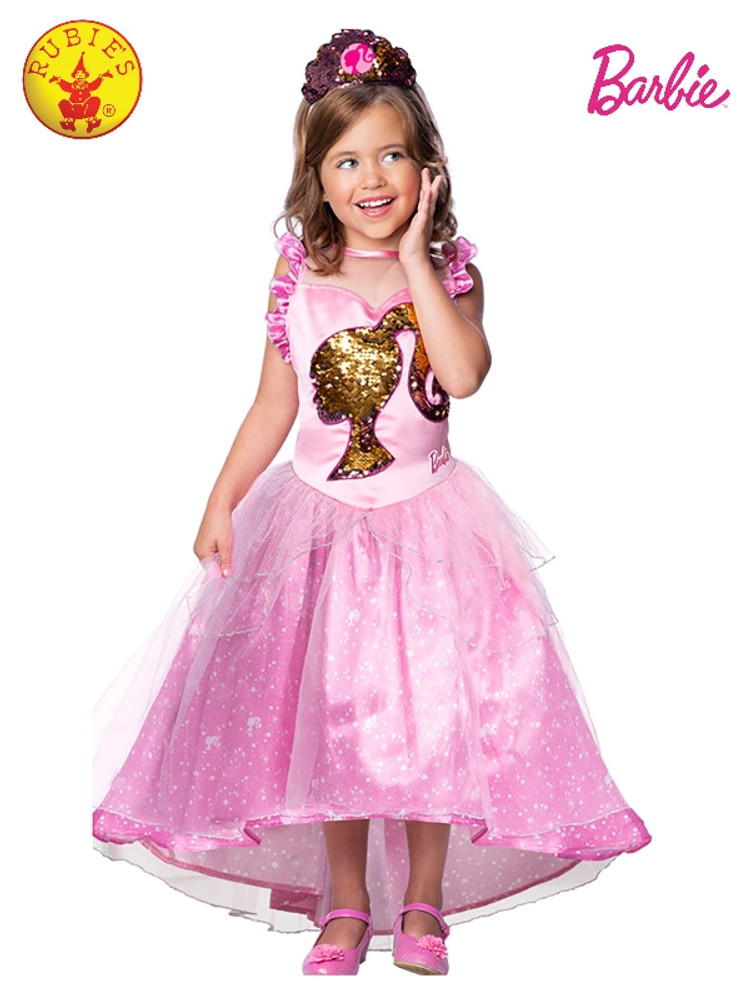 Barbie Princess Deluxe Girls Costume