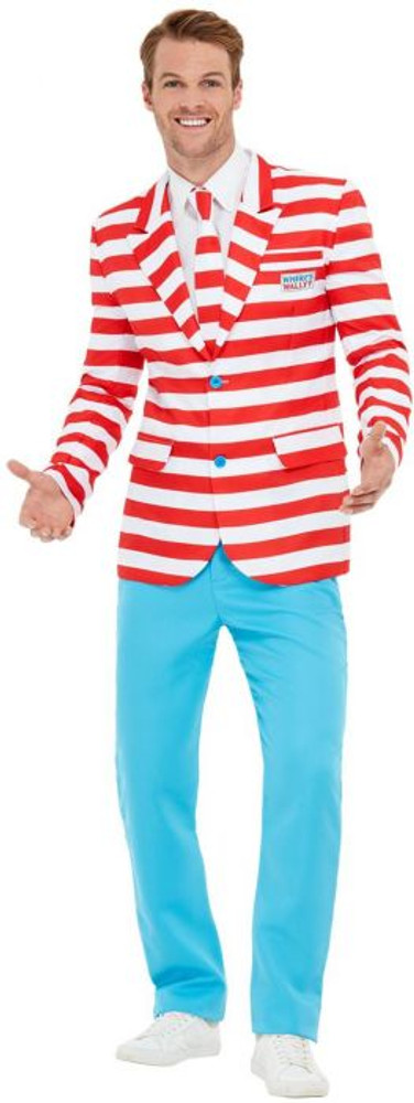 Where's Wally Mens Suit