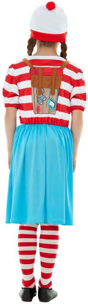 Where's Wally? Wenda Deluxe Girls Costume