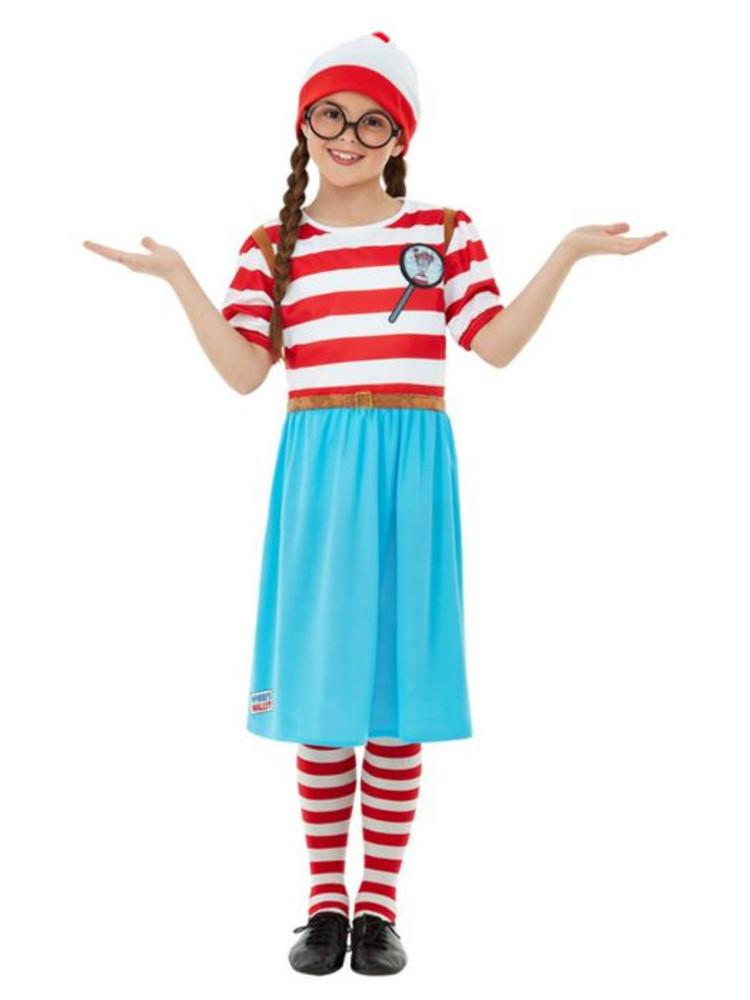 Where's Wally? Wenda Deluxe Girls Costume
