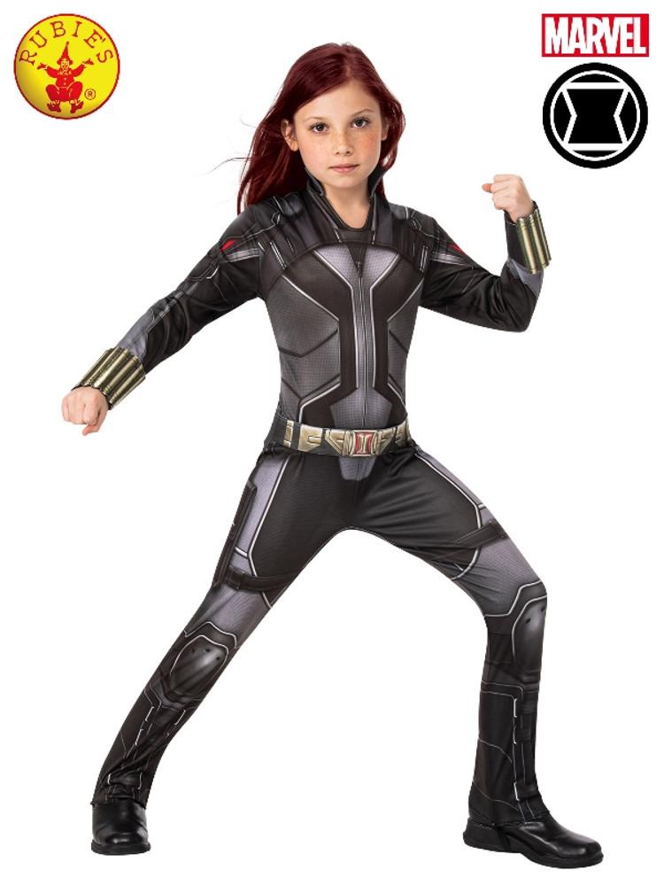 Black Widow Avengers Classic Girls Costume
