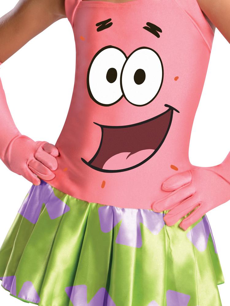 Spongebob Patrick Girls Costume