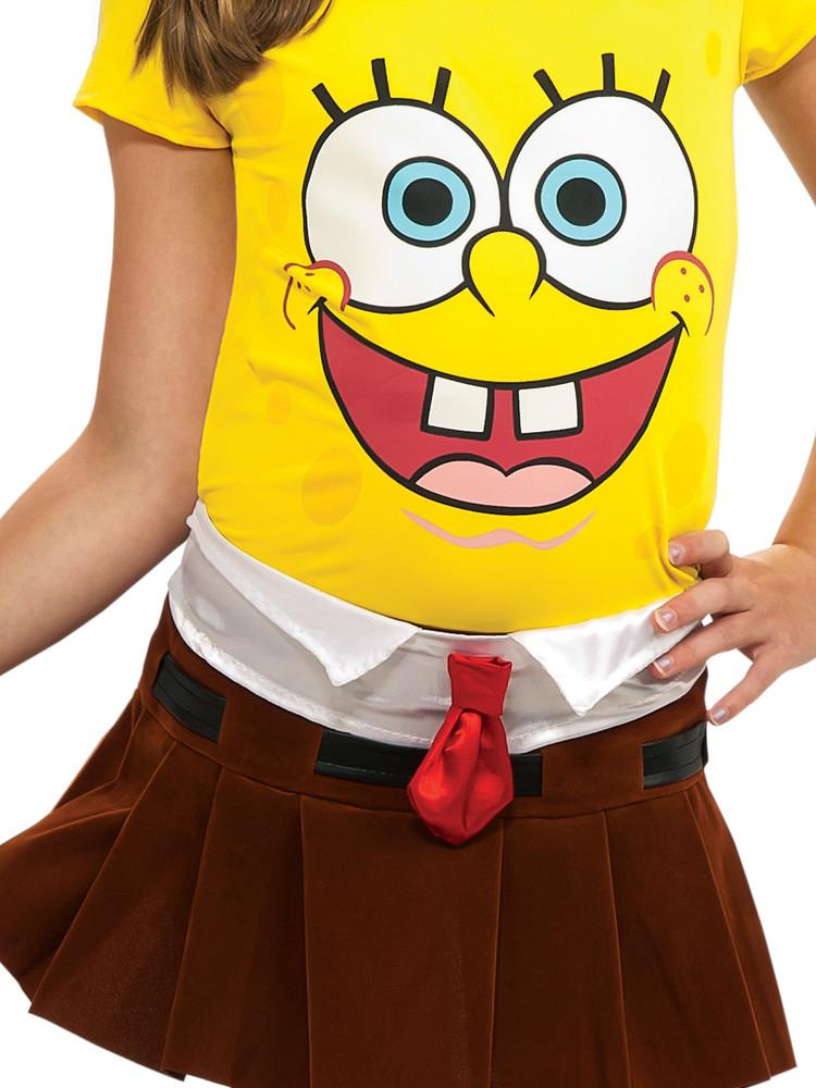 Spongebabe Girls Costume