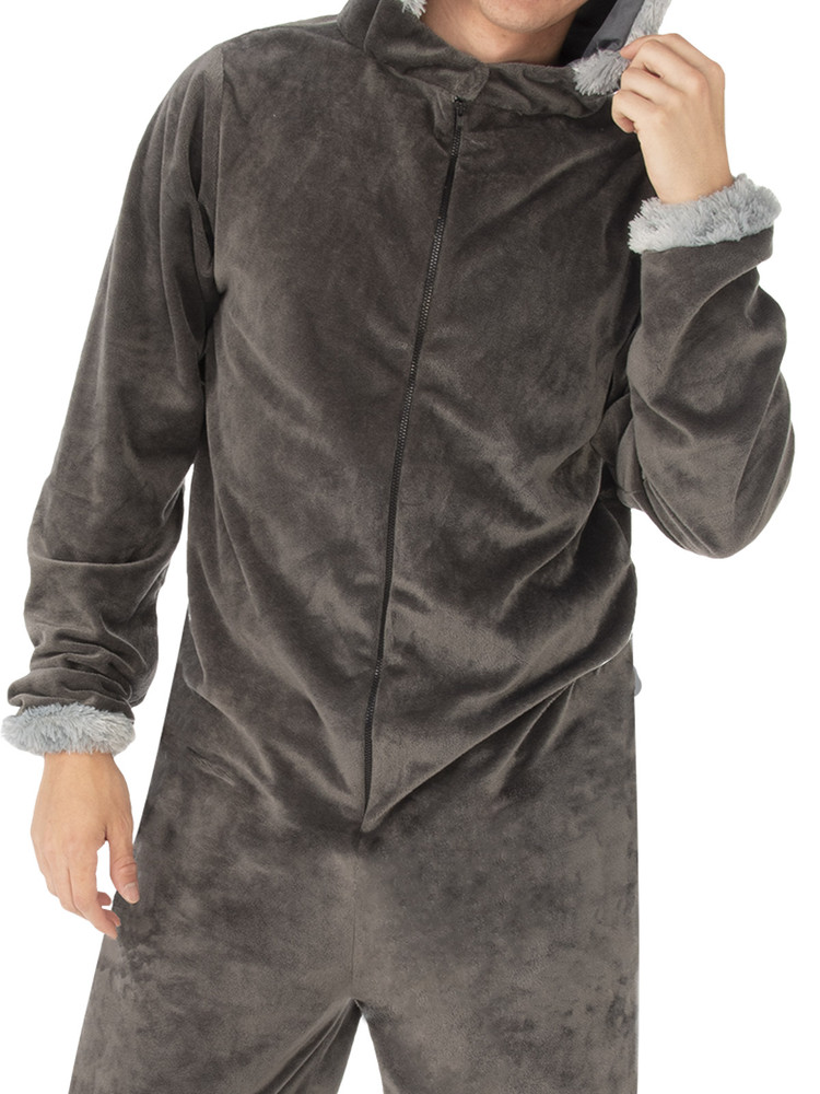 Wolf Hooded Adult Costume