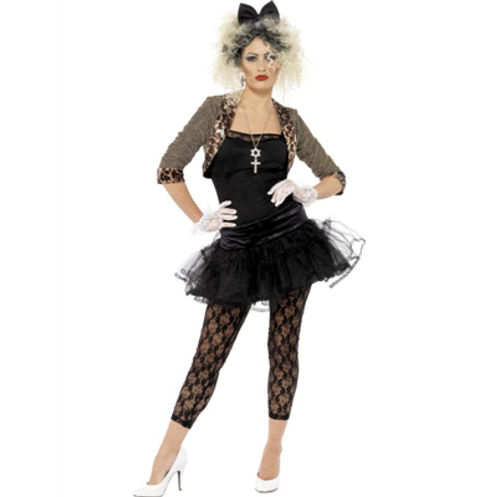 1980'S Madonna Rocker Womens Costume
