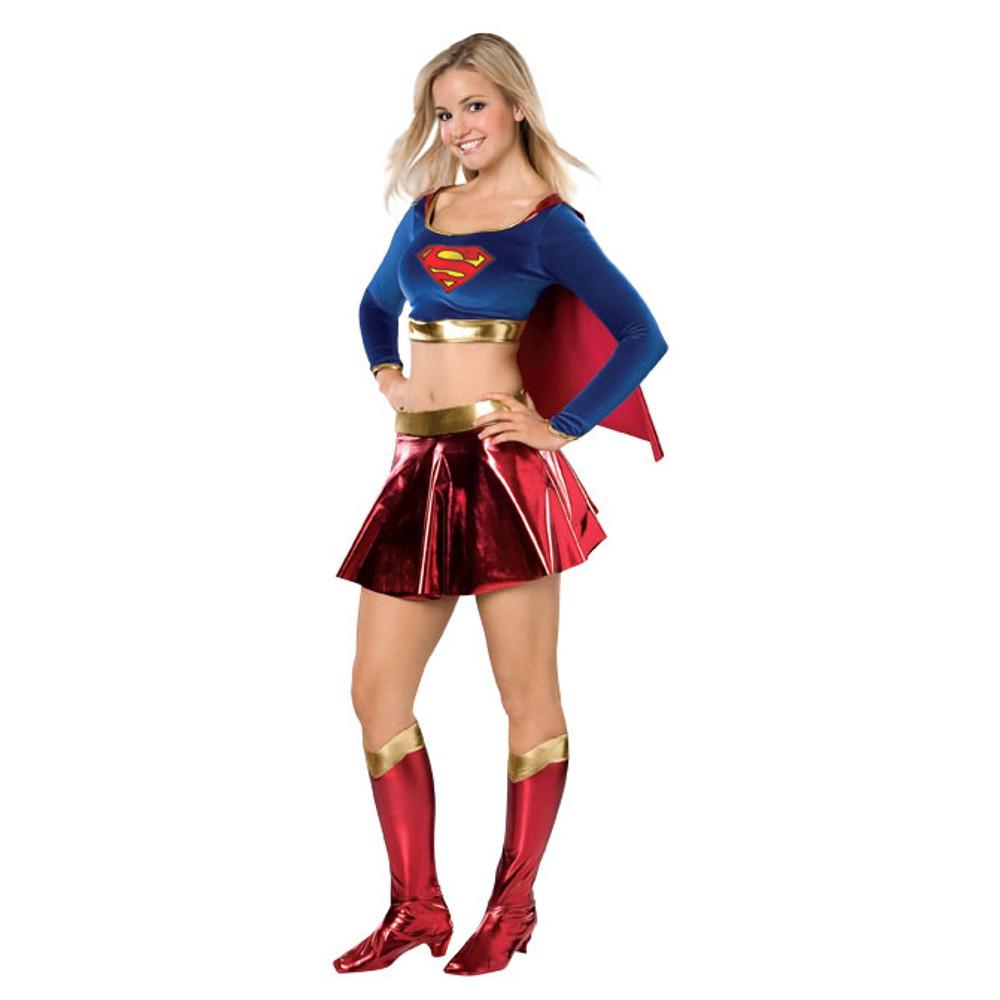Supergirl Teen Superhero Girls Costume