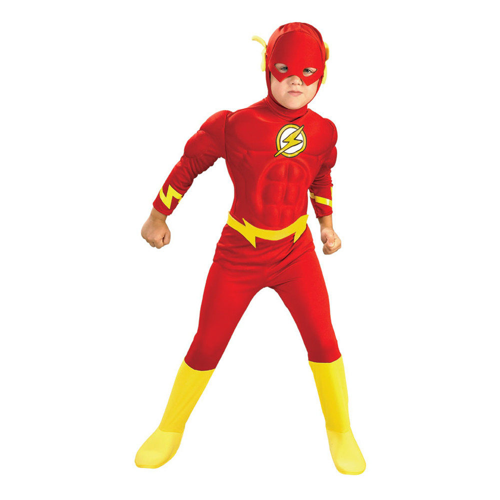 The Flash CHILD DLX MUSCLE CHEST Boys Costume