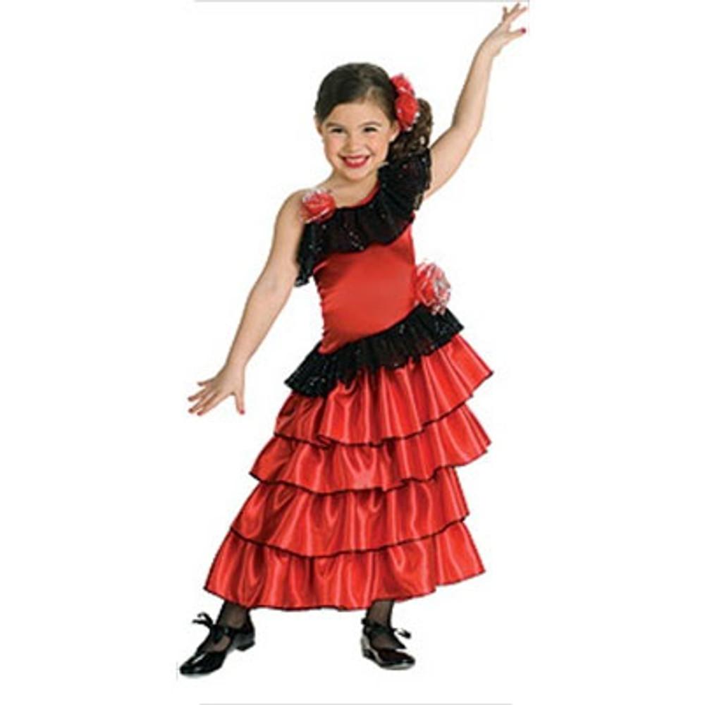 Spanish Princess Girls Costume