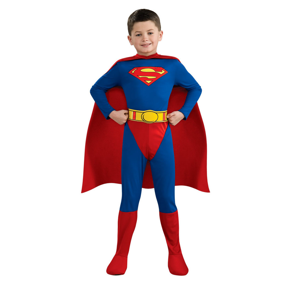 Superman Superhero Boys Costume