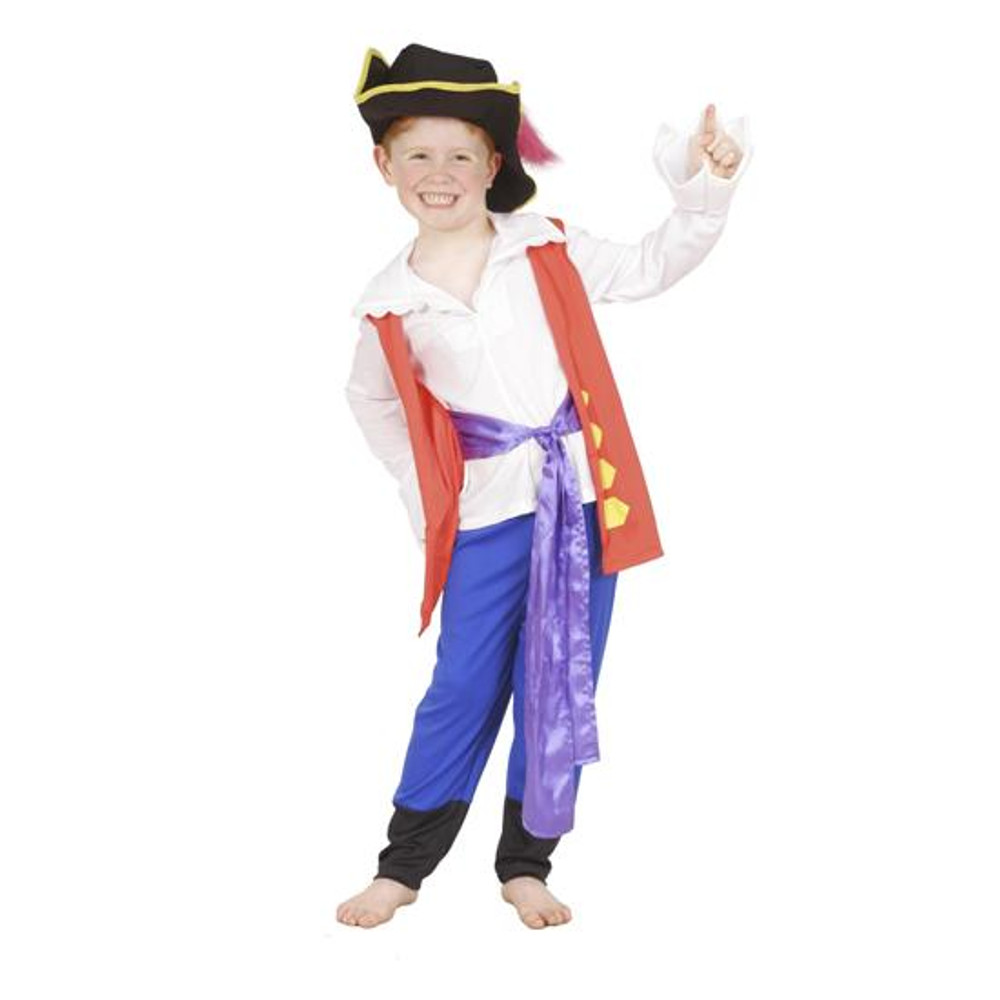Wiggles Captain Feathersword Premium Toddler Costumes